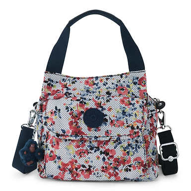 Felix Small Printed Handbag - Busy Blossoms