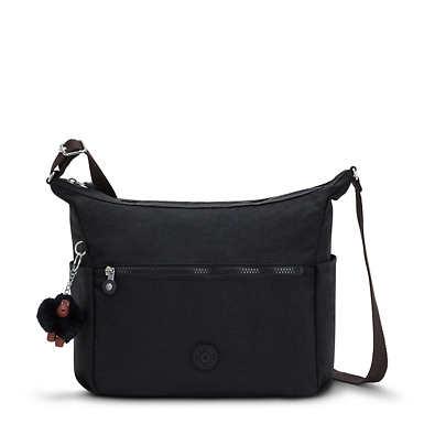 Alenya Crossbody Bag - Black Tonal Zipper
