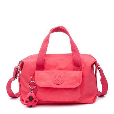 Brynne Handbag - Grapefruit Tonal Zipper