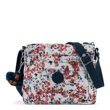 Sebastian Printed Crossbody Bag - Busy Blossoms