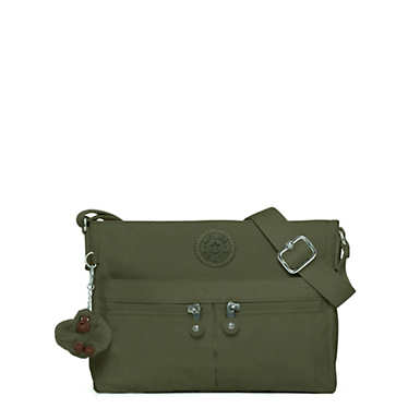 Angie Handbag - Jaded Green Tonal Zipper