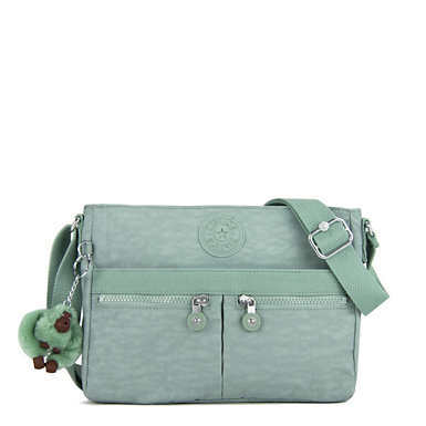 Angie Handbag - Fern Green Tonal Zipper