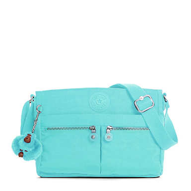 Angie Handbag - Blue Splash