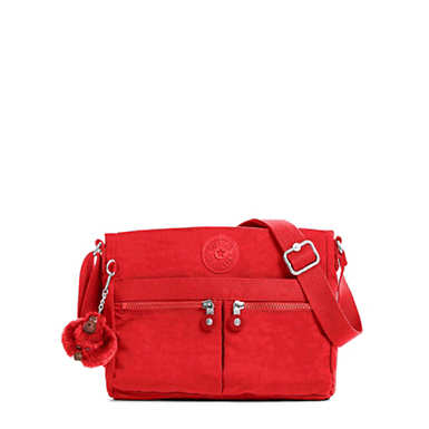Angie Handbag - Cherry Tonal Zipper