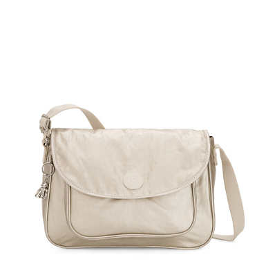 Sunita Metallic Crossbody Bag