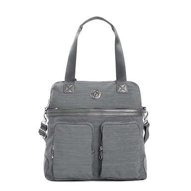 Camryn Laptop Handbag - Dusty Grey Dazz