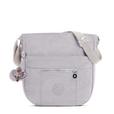 Bailey Saddle Bag Handbag - Slate Grey