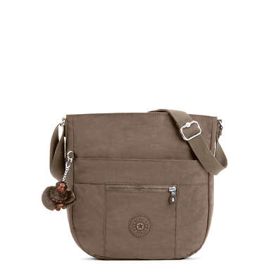 Bailey Handbag - Soft Earthy Beige Tonal Zipper