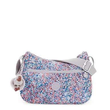 Sally Printed Handbag - Fainted Florals