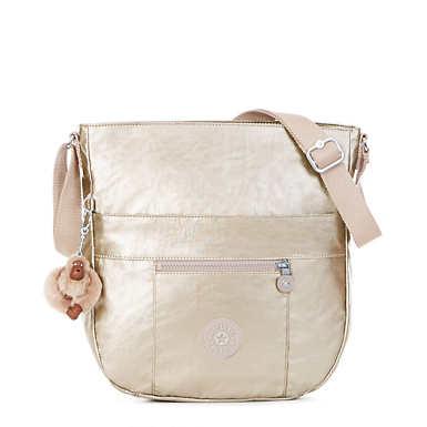 Bailey Metallic Saddle Bag Handbag - undefined