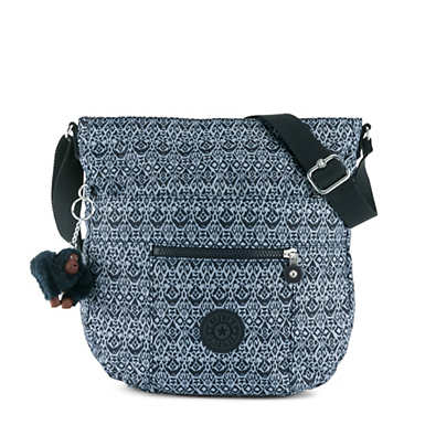 Bailey Printed Saddle Bag Handbag - Geometric Bliss