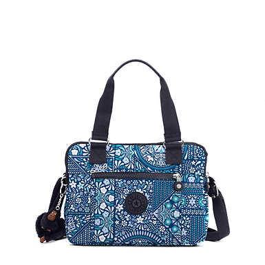 Brent Printed Double Compartment Handbag - undefined