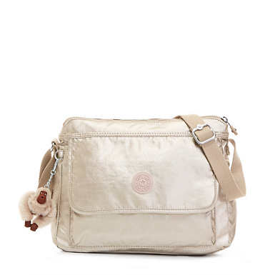 Aisling Metallic Crossbody Bag - undefined