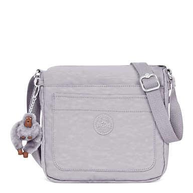 Sebastian Crossbody Bag - Slate Grey Tonal