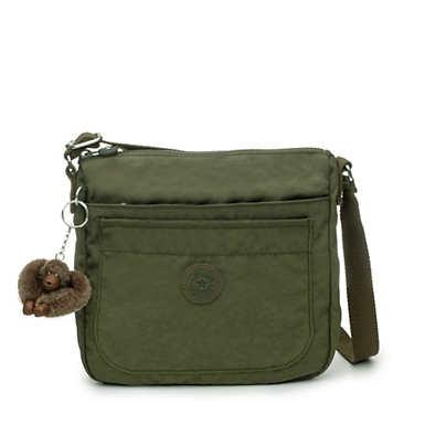 Sebastian Crossbody Bag - Jaded Green Tonal Zipper
