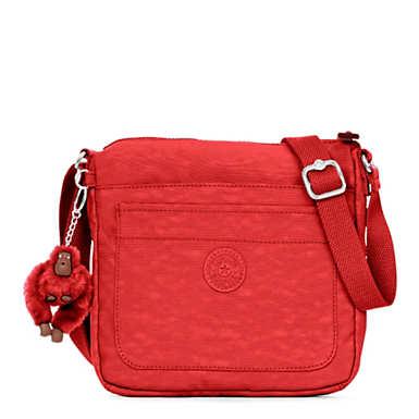 Sebastian Crossbody Bag - Cherry Tonal Zipper