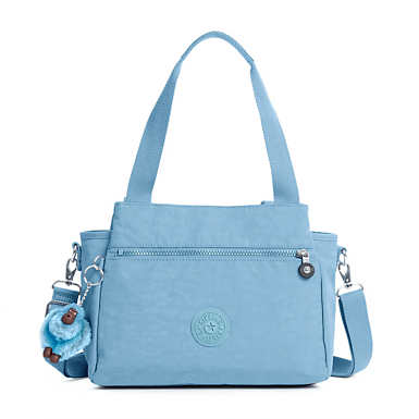 Elysia Handbag - Blue Beam Tonal Zipper