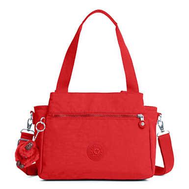Elysia Handbag - Cherry Tonal Zipper