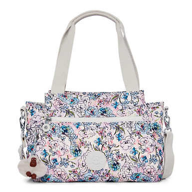 Elysia Printed Handbag - Floral Tapestry