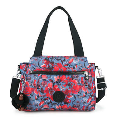 Elysia Printed Handbag - Festive Floral