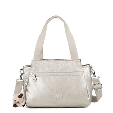 Elysia Metallic Handbag - Cloud Metallic