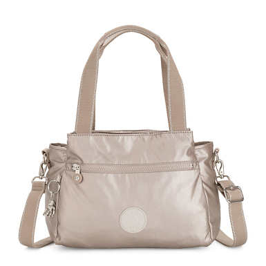 Elysia Metallic Handbag - Metallic Glow