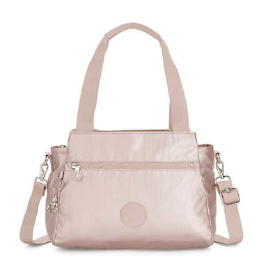 Elysia Metallic Handbag - Metallic Rose