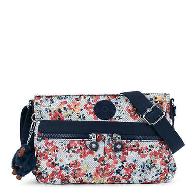 Angie Printed Handbag - Busy Blossoms
