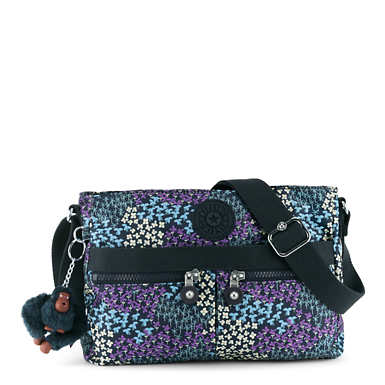 Angie Printed Handbag - Dotted Bouquet