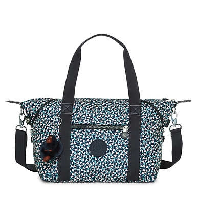 Art Small Printed Handbag - undefined