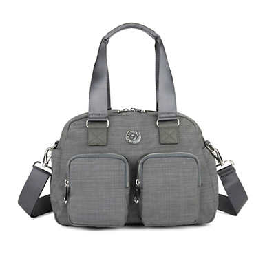 키플링 Kipling DefeaHandbag,Dusty Grey Dazz