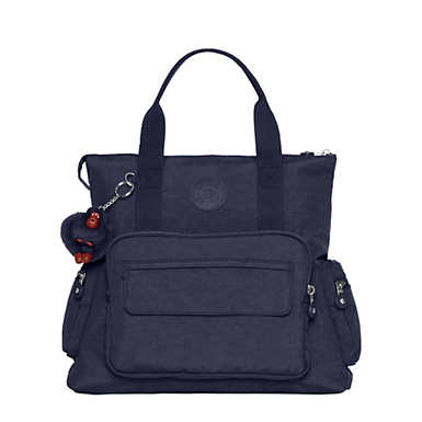 Alvy 2-in-1 Convertible Tote Bag Backpack - True Blue Classic