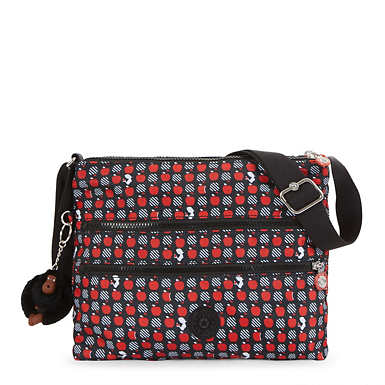 Disney's Snow White Alvar Printed Handbag - Hypnotic Apples
