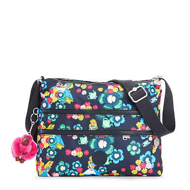 Disney's Alice in Wonderland Alvar Printed Crossbody Bag - Tea Rose