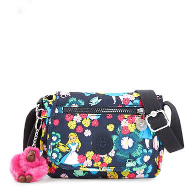Disney's Alice in Wonderland Sabian Printed Crossbody Bag - Tea Rose