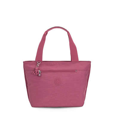 Jerimiah Tote Bag - Fig Purple