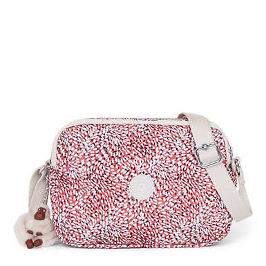 Benci Printed Handbag - Whimsical Leaves