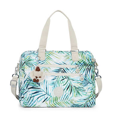 Bevine Printed Handbag - Lively Meadows