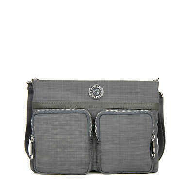 Tessa 5-in-1 Convertible Crossbody Bag - Dusty Grey Dazz