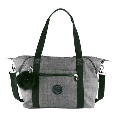 Art Handbag - Cotton Grey