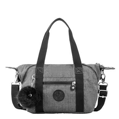 Art Mini Handbag - Cotton Grey