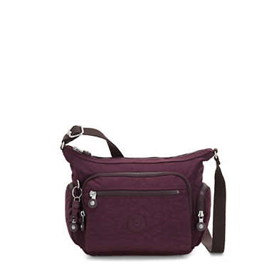 Gabbie Small Crossbody Bag - Dark Plum