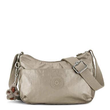 Adley Metallic Mini Bag - Metallic Pewter