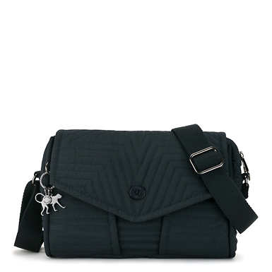 Ready Now Small Crossbody Bag - Serious Blue