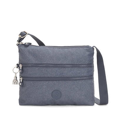Alvar Crossbody Bag - Navy Blue Twist