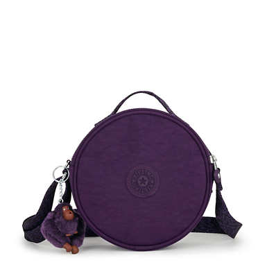 Raquel Round Handbag - Deep Purple