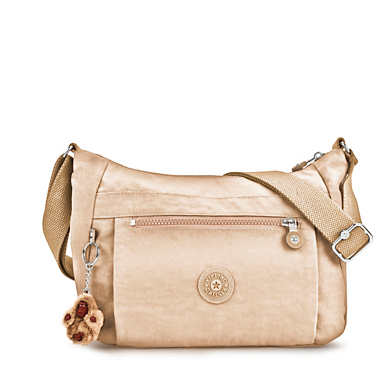 Cassidy Metallic Crossbody Bag