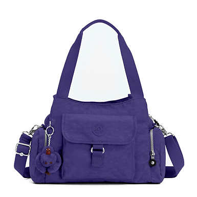 Felix Large Handbag - Berry Blue