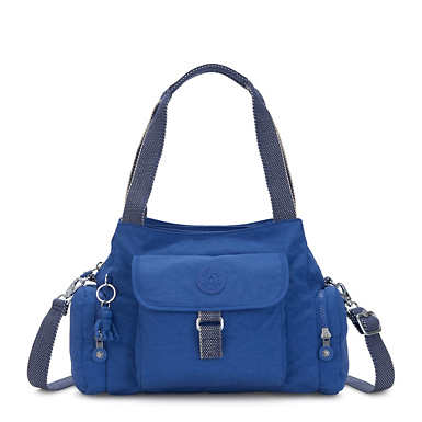 Felix Large Handbag - Wave Blue
