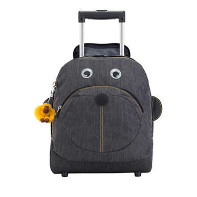 Big Wheely Kids Rolling Backpack - Extreme Block